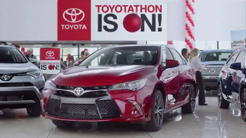 Toyota Toyotathon TV Spot, 'Together With Corolla, Camry and RAV4' - 267 commercial airings