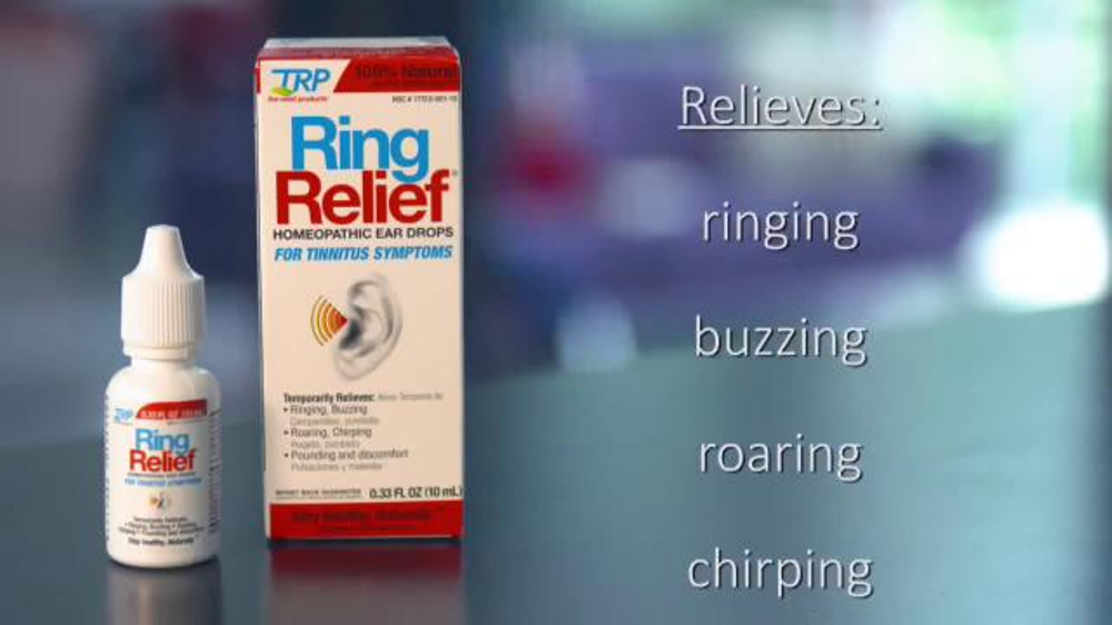 Ring Relief TV Commercial, 'Relieve Symptoms of Tinnitius'