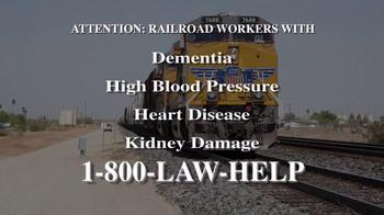 Kresch & Lee TV Spot, 'Railroad Workers Injuries'