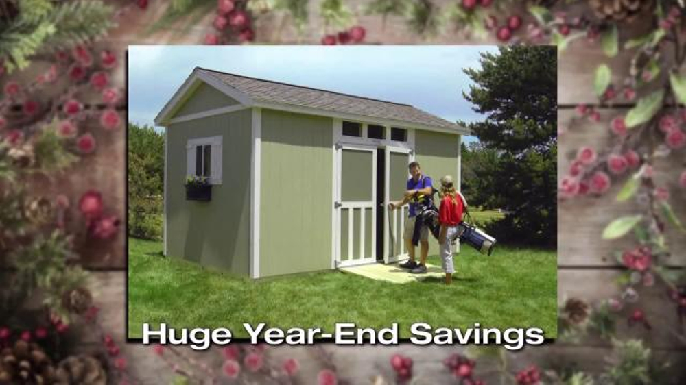 Tuff Shed Huge Year End Savings Tv Commercial 2016