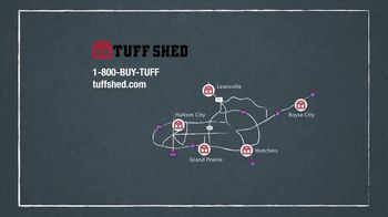 Tuff Shed Huge Year-End Savings TV Spot, 'Holidays: Your Roof' - Thumbnail 9