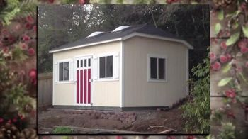 Tuff Shed Huge Year-End Savings TV Spot, 'Holidays: Your Roof' - Thumbnail 3