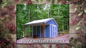 Tuff Shed Huge Year-End Savings TV Spot, 'Holidays: Your Roof' - Thumbnail 6