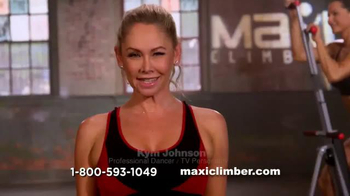 MaxiClimber TV Spot, 'Burn More Calories' Featuring Kym Johnson