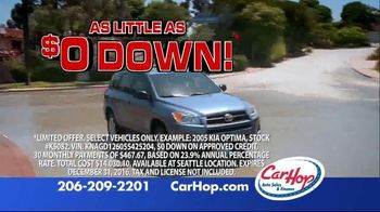 CarHop Auto Sales & Finance Year End Sale TV Spot, 'The Perfect Time' - Thumbnail 4