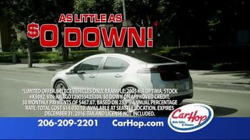 CarHop Auto Sales & Finance Year End Sale TV Spot, 'The Perfect Time' - Thumbnail 5