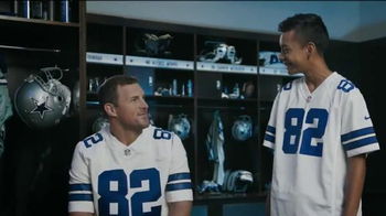 NFL Shop TV Spot, 'Muy bien' con Jason Witten [Spanish] - 111 commercial airings