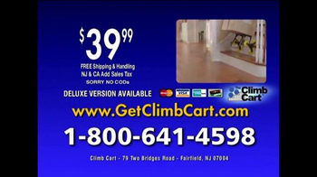 Climb Cart TV Spot, 'Gets You Around Town' - Thumbnail 9