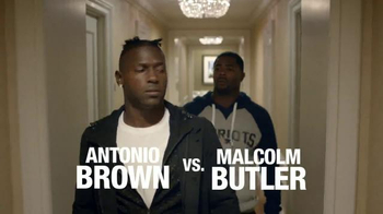 VISA Checkout TV Spot, 'One Step Ahead' Feat. Antonio Brown, Malcolm Butler - Thumbnail 1