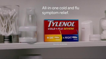 Tylenol Cold + Flu Severe TV Spot, 'Chest Congestion & Cold Symptom Relief' - Thumbnail 4