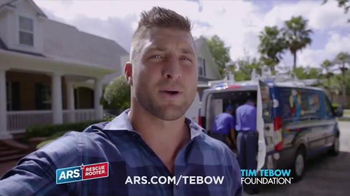 ARS Rescue Rooter TV Spot, 'Working Hard & Changing Lives' Feat. Tim Tebow - Thumbnail 2