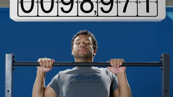 Alaska Airlines Mileage Plan TV Spot, 'Russell Wilson Goes Big' - Thumbnail 4