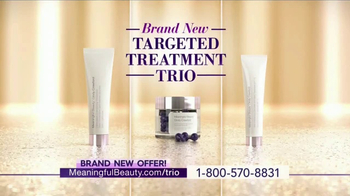 Meaningful Beauty Ultra TV Spot, 'Treatment Trio' Featuring Cindy Crawford - 44 commercial airings