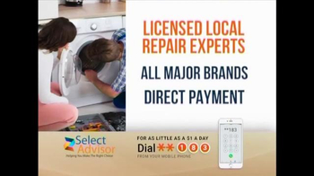Select Advisor Home Warranty TV Spot, 'Home Repair Costs' - 9 commercial airings