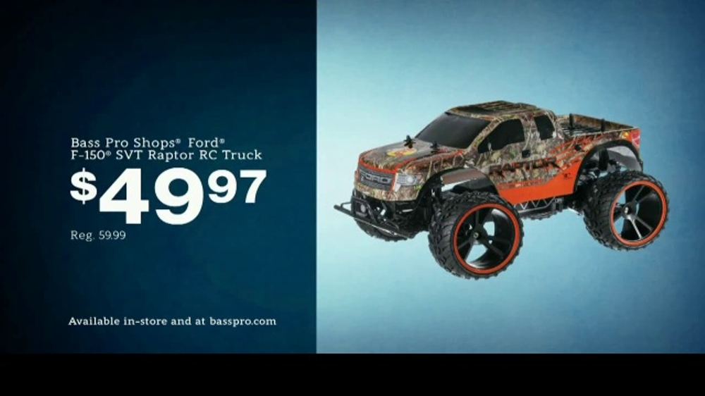 Bass Pro Shops Countdown to Christmas Sale TV Commercial, 'Flannel & RC Truck'