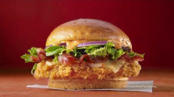 Wendy's Spicy Sriracha Chicken Sandwich TV Spot, 'We're Fluent in Sriracha' - Thumbnail 9