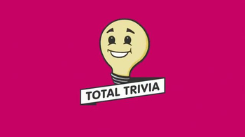 Total Trivia TV Spot, 'Win Real Prizes by Playing Trivia' - Thumbnail 1