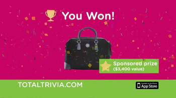 Total Trivia TV Spot, 'Win Real Prizes by Playing Trivia' - Thumbnail 4