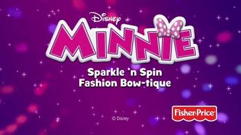 Minnie Sparkle 'n Spin Fashion Bow-tique TV Spot, 'Disney Junior: Sparkle' - Thumbnail 10