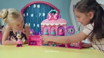 Minnie Sparkle 'n Spin Fashion Bow-tique TV Spot, 'Disney Junior: Sparkle' - Thumbnail 3