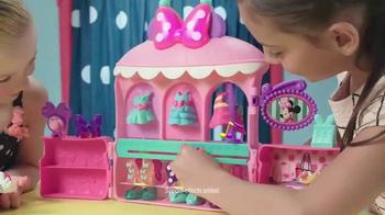 Minnie Sparkle 'n Spin Fashion Bow-tique TV Spot, 'Disney Junior: Sparkle' - Thumbnail 4