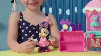 Minnie Sparkle 'n Spin Fashion Bow-tique TV Spot, 'Disney Junior: Sparkle' - Thumbnail 5