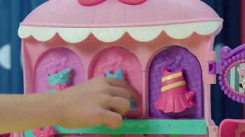 Minnie Sparkle 'n Spin Fashion Bow-tique TV Spot, 'Disney Junior: Sparkle' - Thumbnail 6