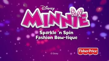 Minnie Sparkle 'n Spin Fashion Bow-tique TV Spot, 'Disney Junior: Sparkle' - Thumbnail 9