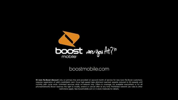 Boost Mobile Unlimited TV Spot, 'Unlimited World: Auto Re-Boost' - Thumbnail 9