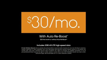Boost Mobile Unlimited TV Spot, 'Unlimited World: Auto Re-Boost' - Thumbnail 8