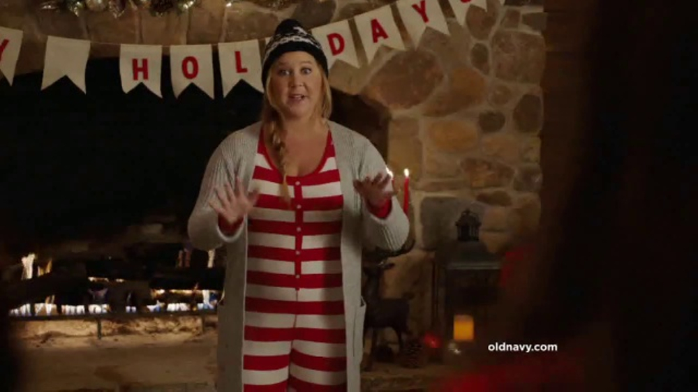 old navy tv commercial pajama party featuring amy schumer kim caramele ispottv - Christmas Pajamas Old Navy