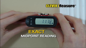 Clever Measure TV Spot, 'Digital Readout Tape Measure' - 10 commercial airings