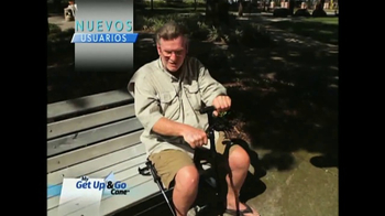 Get Up & Go Cane TV Spot, 'Bastón' [Spanish] - Thumbnail 4