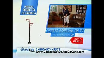 Get Up & Go Cane TV Spot, 'Bastón' [Spanish] - Thumbnail 5