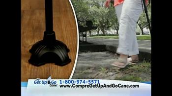 Get Up & Go Cane TV Spot, 'Bastón' [Spanish] - Thumbnail 6