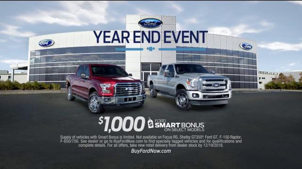 Ford Year End Event Tv Commercial Holiday  Save On Ford F Series Ispot Tv