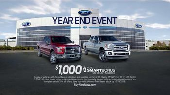 Ford Year End Event TV Spot, 'Holiday: Save on Ford F Series' - Thumbnail 8