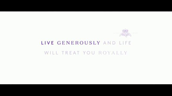 Crown Royal TV Spot, 'Live Generously' - Thumbnail 9