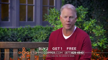 Tommie Copper Cotton TV Spot, 'Discover the Benefits' Feat. Boomer Esiason - Thumbnail 3