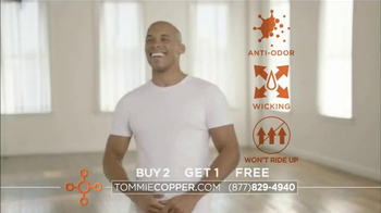 Tommie Copper Cotton TV Spot, 'Discover the Benefits' Feat. Boomer Esiason - Thumbnail 7