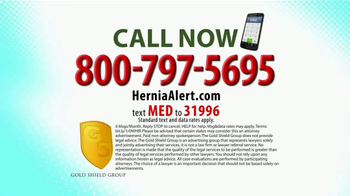 Gold Shield Group TV Spot, 'Hernia Alert' - Thumbnail 6