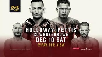 Pay-Per-View TV Spot, 'UFC 206: Hail of a Match' - 9 commercial airings