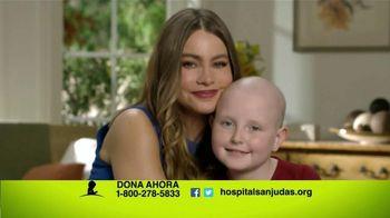 St. Jude Children's Research Hospital TV Spot, 'Thanks' [Spanish] - 24 commercial airings