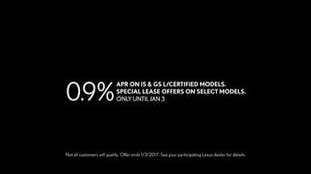 Lexus L/Certified TV Spot, 'Unlimited Mileage Warranty' - Thumbnail 7