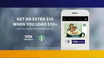 VISA Checkout TV Spot, 'Starbucks: Holiday Magic' - Thumbnail 9