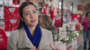 ACE Hardware TV Spot, 'Wrap It in Red: Patti's Husband' - 996 commercial airings