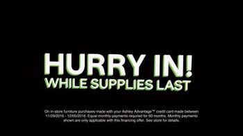 Ashley HomeStore TV Spot, 'Black Friday: Last Chance' - Thumbnail 8