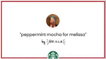 Starbucks TV Spot, 'Holiday Craft: Brilla's Peppermint Mocha' - 3 commercial airings