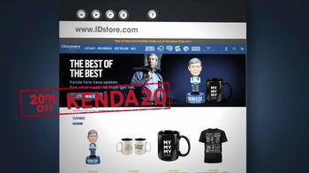 ID Store Talking Joe Kenda Bobblehead TV Spot, 'Staring Contest' - Thumbnail 3