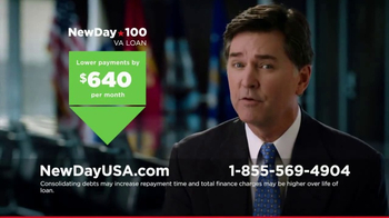 New Day 100 VA Home Loan TV Spot, 'Veterans' - 433 commercial airings